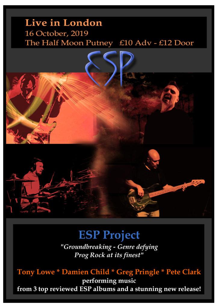 ESP LIVE IN LONDON
